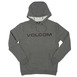 Volcom Impact Hooded Sweat - Dark Grey Thumbnail