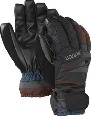 View the Burton Gore Glove - True Black/Leeds Stripe from the Mens clothing range online today from Boarderline