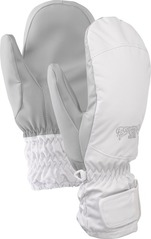 View the Burton Womens Profile Mitt - White from the Womens clothing range online today from Boarderline