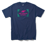New Balance Numeric Brackets T-Shirt - Estate Blue/Teal
