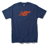 New Balance Numeric Icon T-Shirt - Indigo/Orange