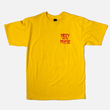 View the Obey and the Posse Basic T-Shirt - Yellow - Obey T-Shirt from the Mens Clothing clothing range online today from Boarderline