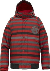 View the Burton Repel Jacket, Cardinal Fade Stripe from the Jackets clothing range online today from Boarderline