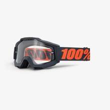 View the 100% ACCURI GUNMETAL GOGGLES - CLEAR LENS from the Goggles clothing range online today from Boarderline