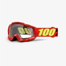 View the 100% ACCURI SAARINEN GOGGLES - CLEAR LENS from the Goggles clothing range online today from Boarderline