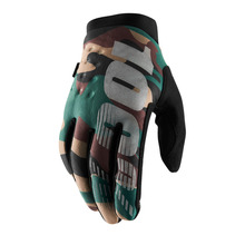 View the 100% Brisker Glove - Camo/Black from the Gloves clothing range online today from Boarderline
