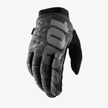 View the 100% Brisker Glove - Heather Grey from the Gloves clothing range online today from Boarderline