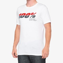 View the 100% Bristol T-Shirt - White from the T-Shirts clothing range online today from Boarderline
