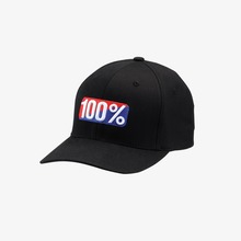 View the 100% CLASSIC X-FIT CAP - BLACK from the Snapbacks, 6 Panel Caps clothing range online today from Boarderline