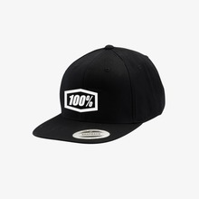 View the 100% CORPO SNAPBACK CAP - BLACK from the Caps clothing range online today from Boarderline