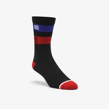View the 100% Flow Performance Socks - Black from the Socks clothing range online today from Boarderline