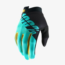 View the 100% ITRACK GLOVE - BLACK/AQUA from the Gloves clothing range online today from Boarderline