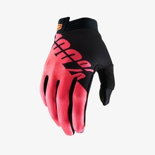 View the 100% ITRACK GLOVE - BLACK/FLUO RED from the Gloves clothing range online today from Boarderline