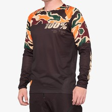 View the 100% R-Core Jersey - Camo/Black from the Tops clothing range online today from Boarderline