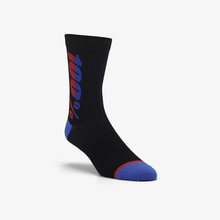 View the 100% Rhythm Merino Performance Socks - Black from the Socks clothing range online today from Boarderline