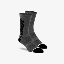 View the 100% Rhythm Merino Performance Socks - Charcoal from the Socks clothing range online today from Boarderline