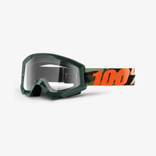View the 100% Strata Huntsitan Goggles - Clear lens from the Goggles clothing range online today from Boarderline
