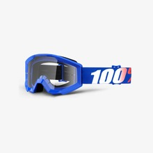 View the 100% STRATA NATION JUNIOR GOGGLES - CLEAR LENS from the Goggles clothing range online today from Boarderline