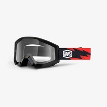 View the 100% STRATA SLASH GOGGLE - CLEAR LENS from the Goggles clothing range online today from Boarderline