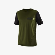 View the 100% RIDECAMP SHORT SLEEVE JERSEY - FATIGUE from the Tops clothing range online today from Boarderline