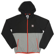View the Adidas Aerotech Windbreaker - Black/Heather Grey from the Jackets clothing range online today from Boarderline