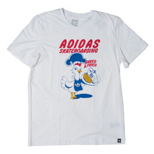 View the Adidas Baked and Fried T-Shirt - White from the T-Shirts clothing range online today from Boarderline