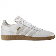 View the Adidas Busenitz Pro 10 Year Anniversary - White/White/Gold Metallic from the Mens clothing range online today from Boarderline
