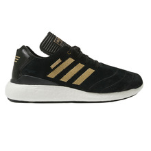 View the Adidas Busenitz Pure Boost 10 Year Anniversary - Black/Gold from the Mens clothing range online today from Boarderline