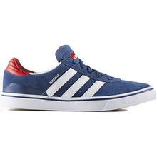 View the Adidas Busenitz Vulc ADV - Mystery Blue/White/Scarlet from the Mens clothing range online today from Boarderline