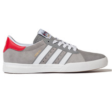 View the Adidas Lucas ADV - Solid Grey/White/Scarlet from the Footwear clothing range online today from Boarderline