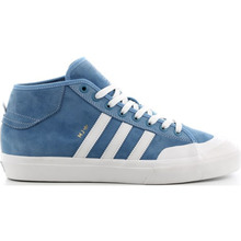 View the Adidas Matchcourt Mid - Marc Johnson - Light Blue/White from the Mens clothing range online today from Boarderline