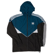 View the Adidas Premier Windbreaker - Black/Blue Night/White from the Jackets clothing range online today from Boarderline