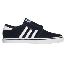 View the Adidas Seeley - Core Black/White/Scarlet from the Mens clothing range online today from Boarderline