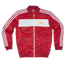 Adidas Skateboarding ADV Track Jacket - University Red