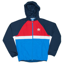 Adidas Skateboarding ADV Windbreaker - Navy/Red