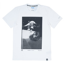 View the Adidas Skateboarding RYR Kareem T-Shirt - White from the Clothing clothing range online today from Boarderline