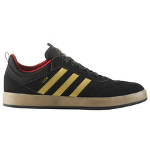 View the Adidas Suciu ADV - Core Black/Gold Foil/Gum from the Mens clothing range online today from Boarderline