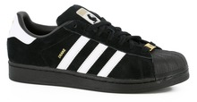 View the Adidas Superstar RT Drake Jones - Black/White from the Mens clothing range online today from Boarderline