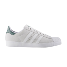 View the Adidas Superstar Vulc ADV - Crystal White/White/Collegiate Green from the Mens clothing range online today from Boarderline
