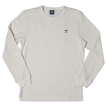 View the Adidas Thermal Long Sleeve - Off White from the T-Shirts clothing range online today from Boarderline