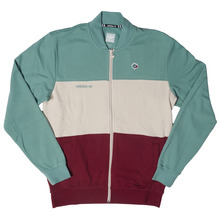 View the Adidas X Magenta Track Jacket - Vapour Steel/Clear Brown/Burgundy from the Hoods and Crews clothing range online today from Boarderline