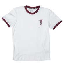 View the Adidas X Magenta T-Shirt - White/Burgundy from the T-Shirts clothing range online today from Boarderline