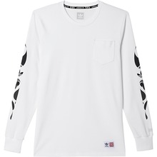 View the Adidas X Mhak Long Sleeve - White from the T-Shirts clothing range online today from Boarderline