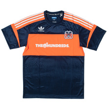 Adidas x The Hundreds Soccer Jersey - Navy/Orange