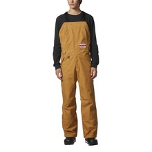 View the Adidas Glisan Bib Pant - Mesa/Scarlet from the Mens Snowboard Pants clothing range online today from Boarderline
