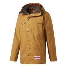 View the Adidas Glisan Jacket - Mesa/Scarlet from the Mens Snowboard Jackets clothing range online today from Boarderline