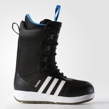 View the Adidas Samba Snowboard Boot - Black/Running White from the Mens Snowboard Boots clothing range online today from Boarderline