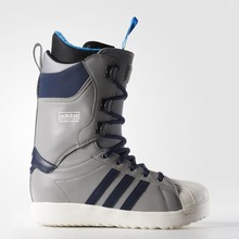 View the Adidas Superstar Snowboard Boot - Grey/Navy/White from the Mens Snowboard Boots clothing range online today from Boarderline
