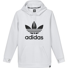 View the Adidas Team Tech Hood - White from the Fleece/Layering clothing range online today from Boarderline