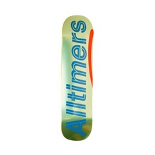 "View the Alltimers Shiny Limes Logo Deck - 8.0"" from the Decks clothing range online today from Boarderline"
